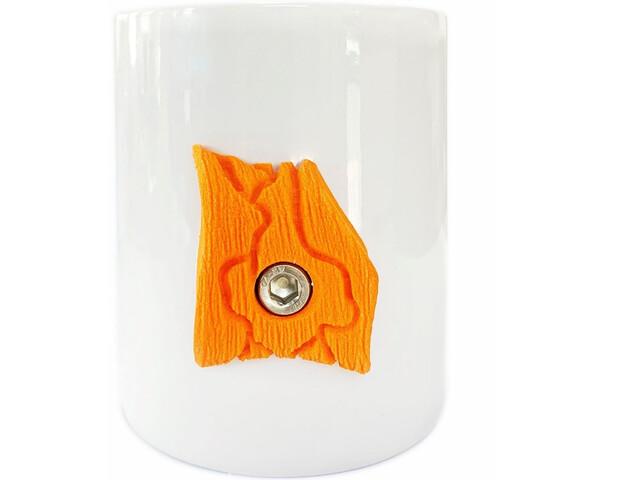 YY VERTICAL Taza Escalada, blanco/naranja